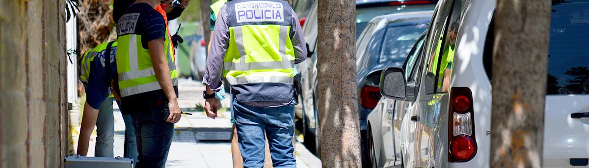 Una plaza para la Policía Nacional, pero nada de material ni personal